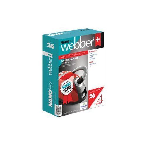 Webber Worek do odkurzacza 26 (4 sztuki) (5907265011176)