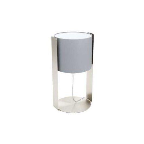 Eglo siponto 98286 lampka stołowa biurkowa 1x60w e27 satyna/szara