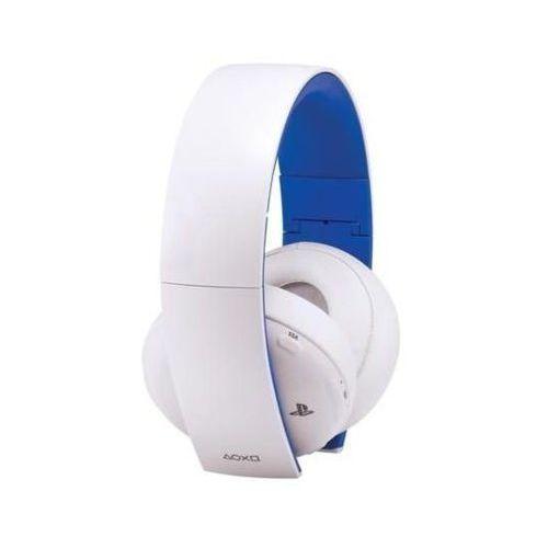 Zestaw słuchawkowy playstation 4 2.0 biały marki Sony