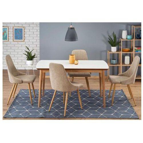 Rozkładany stół w stylu skandynawskim nemes - biały marki Producent: elior