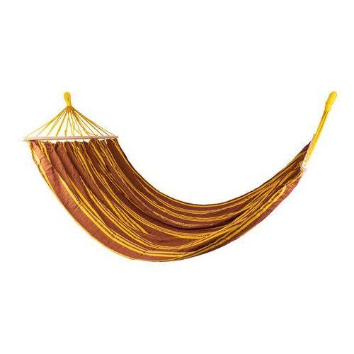 Worker Solidny hamak maxy 220x160, żółto-brązowy