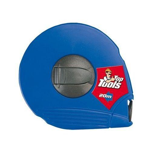 Topex Taśma miernicza włókno szklane niebieska 20m (5902062285126)