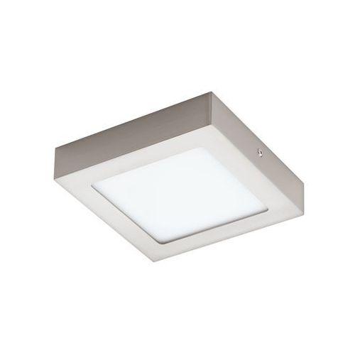 Plafon lampa sufitowa fueva 1 94524 natynkowa oprawa led 11w kwadratowa nikiel satynowany marki Eglo