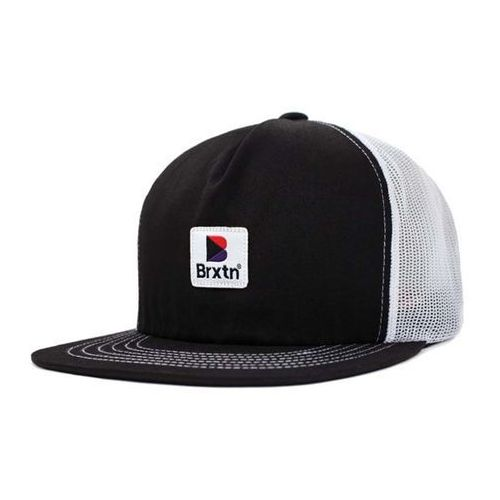 Czapka z daszkiem - stowell hp mesh cap black/white (bkwht) rozmiar: os marki Brixton