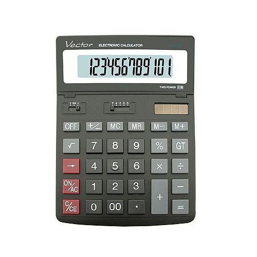 Kalkulator dk206 12 pozycyjny marki Vector. Najniższe ceny, najlepsze promocje w sklepach, opinie.