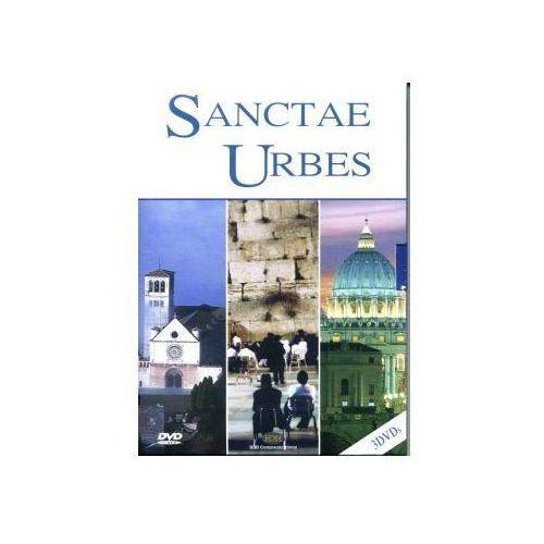 3 filmy DVD - Święte Miasta. Asyż, Jerozolima, Rzym