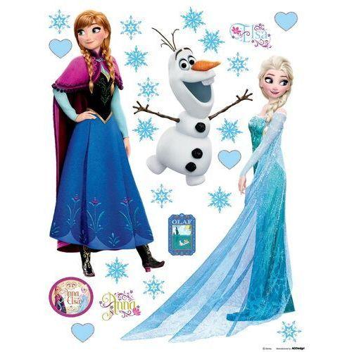 Naklejka dekoracyjna Elsa i Anna, 30 x 30 cm (8595577910958)