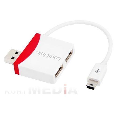 HUB USB LogiLink USB 2.0 Hub 2-port (UA0179) Darmowy odbiór w 21 miastach! (4052792012873)