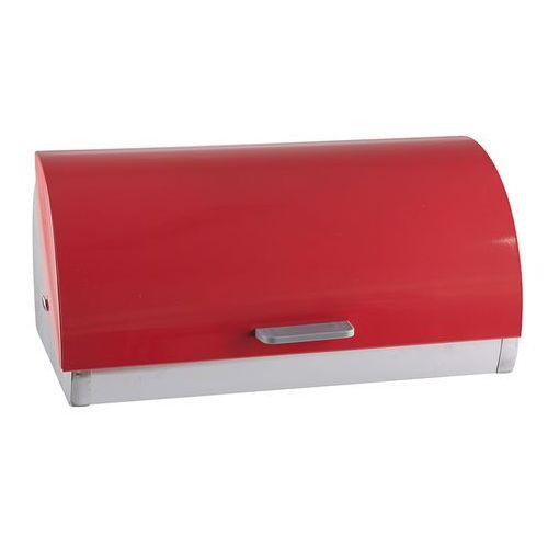 GIARDINO HOME Chlebak stalowy czerwony satynowy ZJ-A333