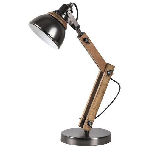 Rabalux 4199 - Lampa stołowa AKSEL 1xE14/15W/230V czarny