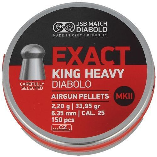 Jsb Śrut  exact king heavy mkii 6.35mm 150szt (546498-150)