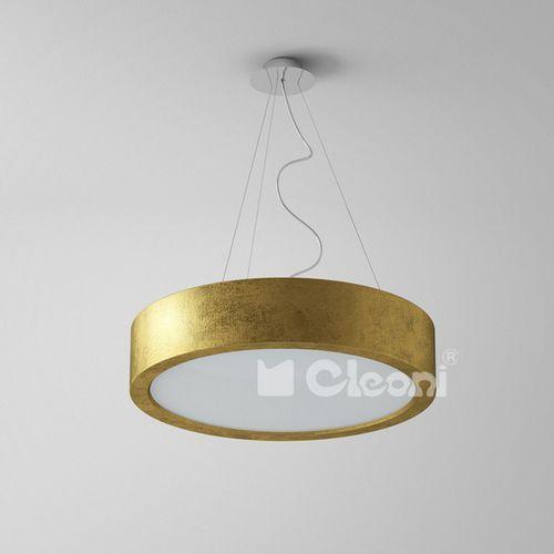 Lampa wisząca omega 440 3xe27 schlagmetal złoty żarówki led gratis!, 1571/942 marki Cleoni