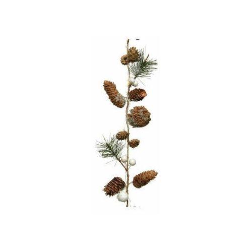 Decoris Girlanda podświetlana z szyszkami 90 cm 1 szt. (8720093059557)