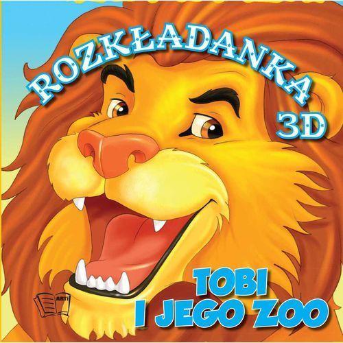 Tobi i Jego Zoo Rozkładanki 3D - Wysyłka od 3,99, oprawa twarda