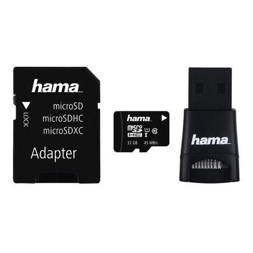 Hama Karta microsd microsdhc accessory kit, 4 parts, 32 gb, class 10 uhs-i - 001147880000 darmowy odbiór w 20 miastach!