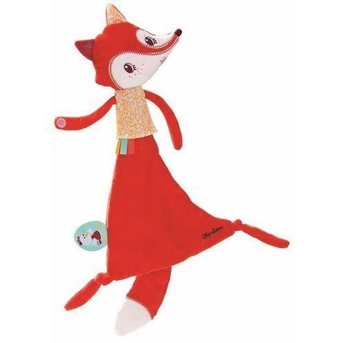 Kocyk Przytulanka w pudełku Lilliputiens - Lisica Alice L86799