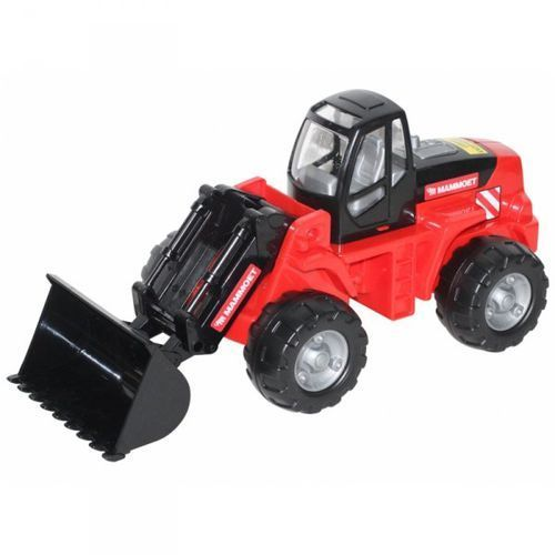 Wader quality toys Wader qt mammoet ładowarka koparka traktor do piasku 49 cm