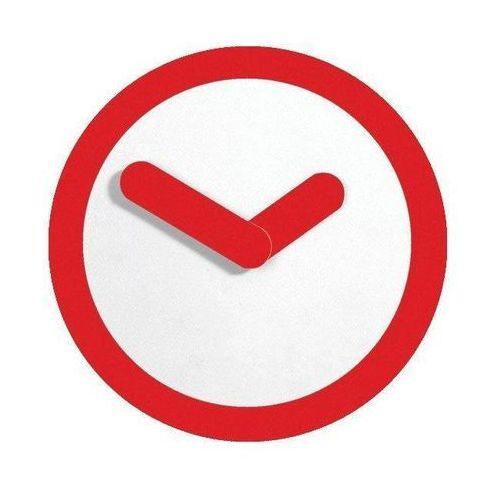 Zegar ścienny Nextime Focus czerwony, 2615ro