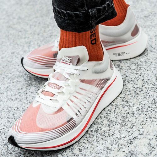 Buty sportowe męskie Nike Zoom Fly SP Breaking 2 (AJ9282-106), kolor biały