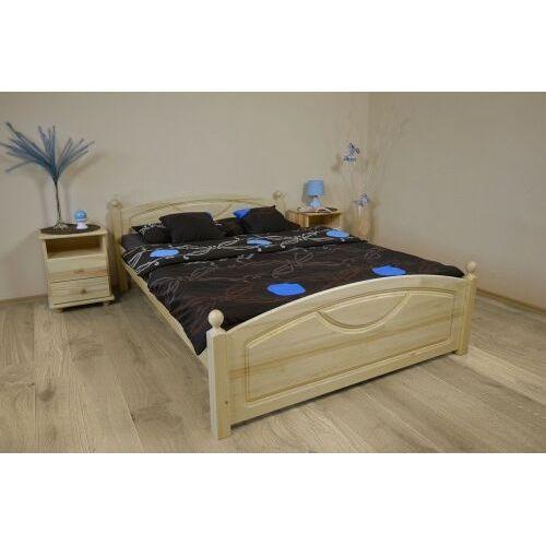 Łóżko z drewna sosnowego Kristo 180x200, Kristo180