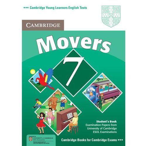 Cambridge YLET Movers 7 Student's Book (podręcznik) (lp), książka w oprawie miękkej