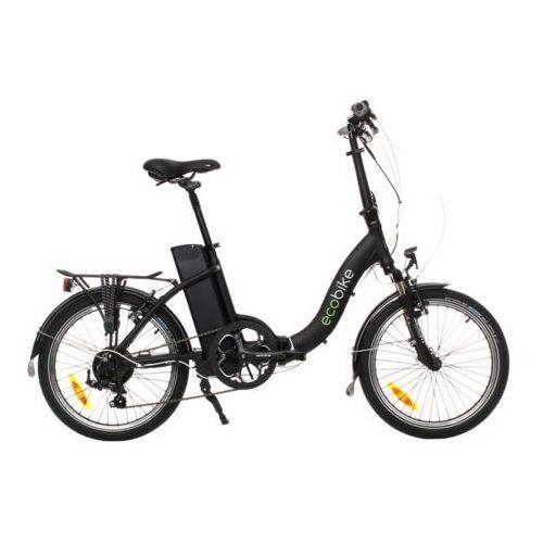 Rower elektryczny składak even black marki Ecobike