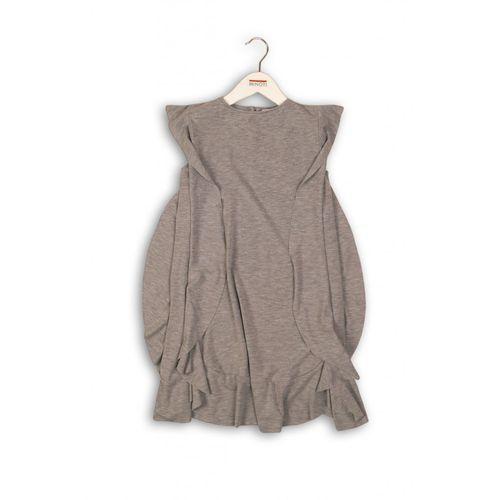 Szara sukienka dla dziewczynki3k36cy marki Minoti