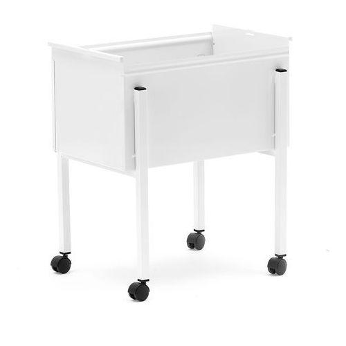 Wózek biurowy na skoroszyty bez pokrywy na ok. 55 skoroszytów A4
