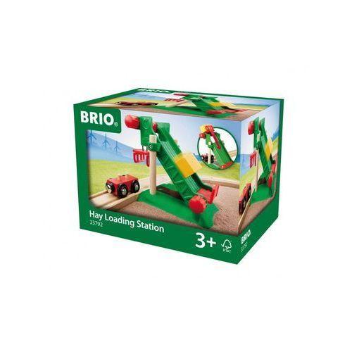 przeładunek towaru z wagonem 33792 marki Brio