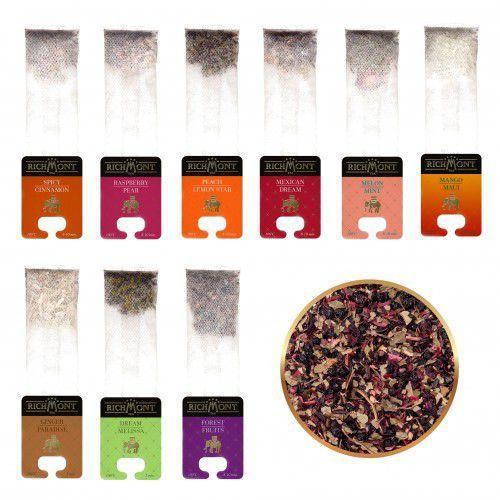 Zestaw smaków Richmont - Herbaty Owocowe - 10 szt.