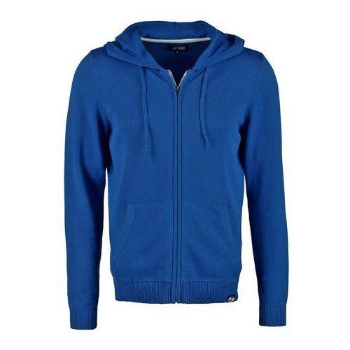 YOURTURN Bluza rozpinana blue, bawełna
