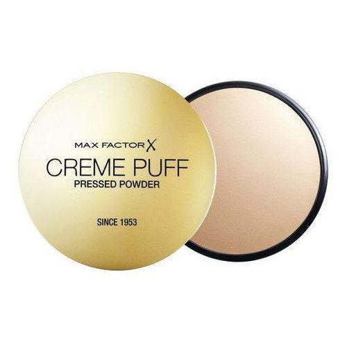 creme puff puder prasowany 21 g - 41 medium beige marki Max factor