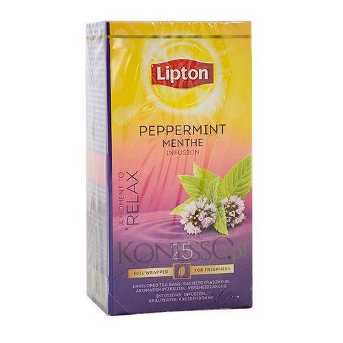 Ziołowa herbata  classic peppermint 25 kopert marki Lipton