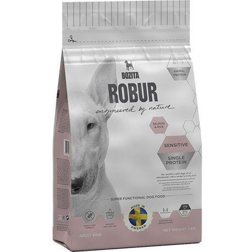 Robur sensitive single protein salmon & rice 0,95kg marki Bozita