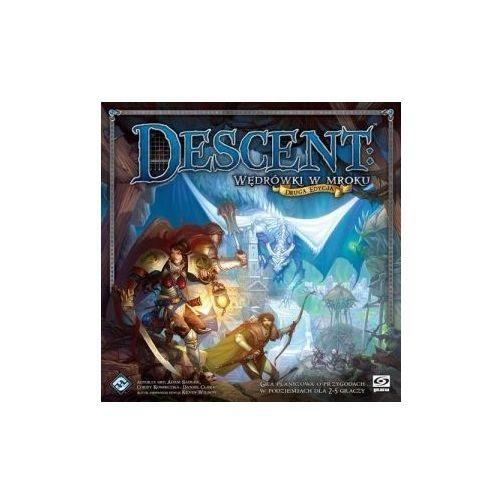 Descent: wędrówki w mroku (druga edycja). gra planszowa marki Galakta