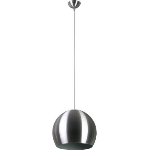 Lampa wisząca Kosmo 1 Aluminium Lampex 158/1 ALU, kolor Przezroczysty