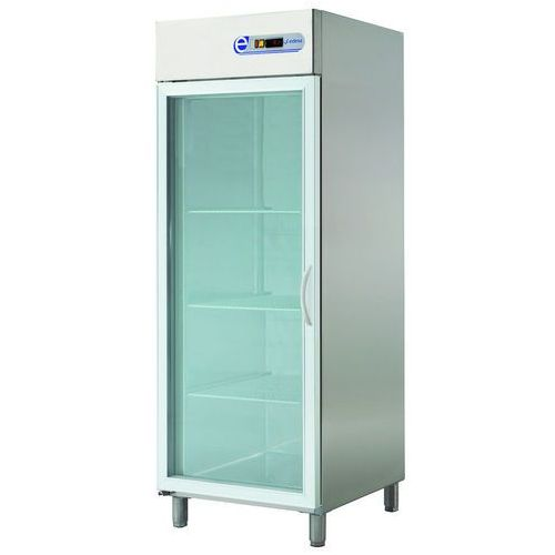 Szafa chłodnicza 700l, przeszklona lewe ecp-701 glass l marki Asber