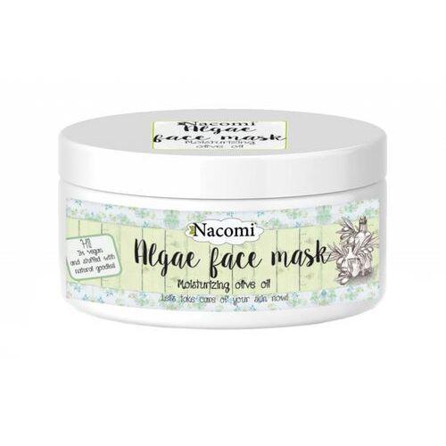 - maska algowa typu peel-off o działaniu nawilżającym z oliwkami marki Nacomi
