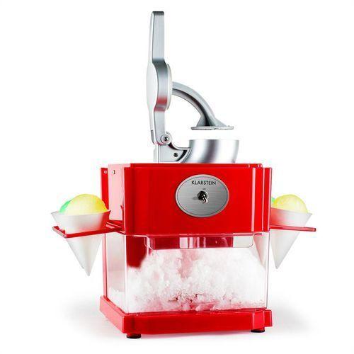 Klarstein Mr. Cone & Ms. Ice Shaved Ice Maker Zamów ten produkt do 21.12.16 do 12:00 godziny i skorzystaj z dostawą do 24.12.2016
