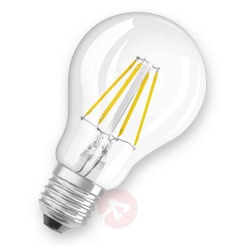 E27 7W 827 żarówka LED, przezroczysta (4052899961654)