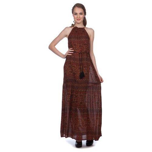 Brave Soul sukienka damska Maria S wielokolorowy, kolor brązowy