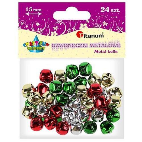 Dodatek dekoracyjny Craft-fun dzwoneczki dekoracyjne 1,5 mix DIYXM040 (M044) (5907437666210)