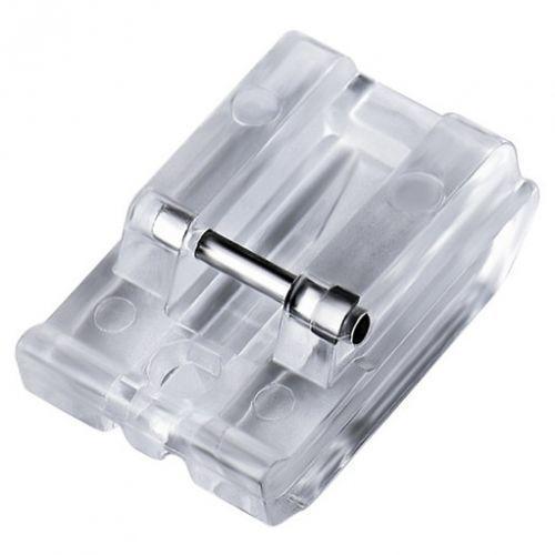 Stopka do wszywania suwaków / zamków krytych matic plastikowa do maszyn do szycia marki Inny / zamiennik