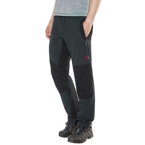 Mammut courmayeur spodnie długie mężczyźni czarny de 52 2018 spodnie softshell
