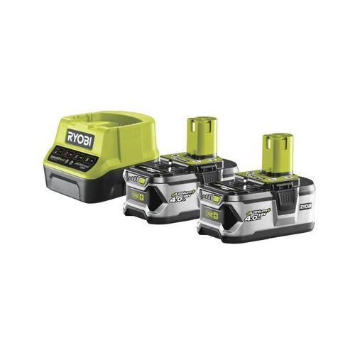 Zestaw akumulator i ładowarka 18v 4ah rc18120-240 marki Ryobi