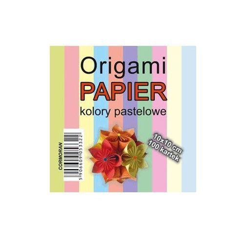 Cormoran Origami papier kol.pastel 10x10 100k. /