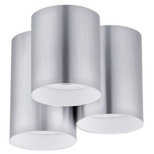 Downlight LAMPA sufitowa LASANA 94634 Eglo plafon OPRAWA natynkowa okrągłe tuby stal, kup u jednego z partnerów