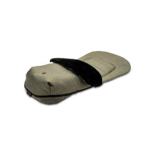 MOON Śpiworek na nóżki olive/fishbone (4025583035412)