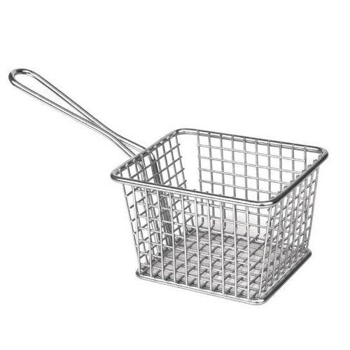 Koszyk do przekąsek kwadratowy | 120x100x(H)80mm