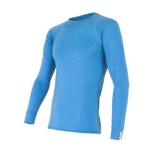 Bielizna termoaktywna Merino Wool Active Men's T-shirt Long Sleeves Niebieski XL